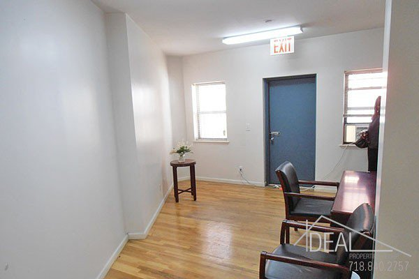 Perfect 250sf Prospect Heights Office with Outdoor Space 1