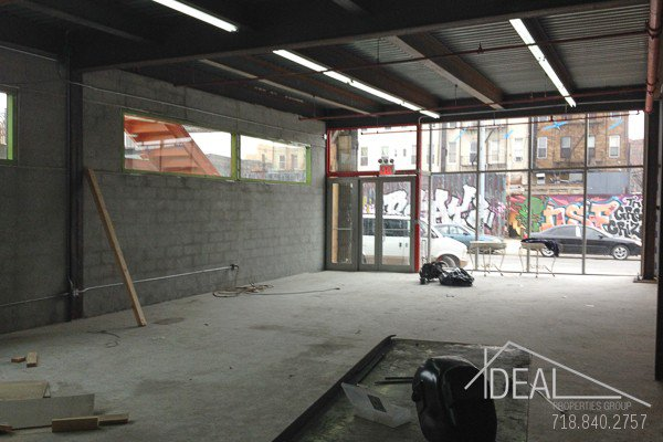 Gigantic Renovated Two Level Storefront with Patio in Bushwick! 3