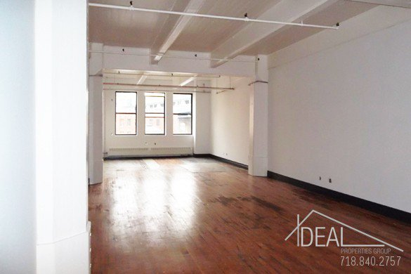 Sensational 1573-sf Office Space in Dumbo! 1