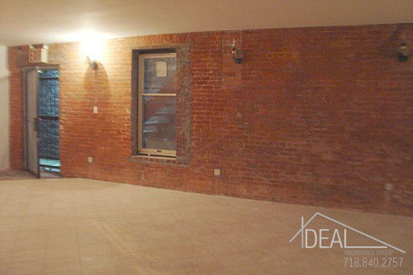 1400SF Commercial Space in Park Slope 1
