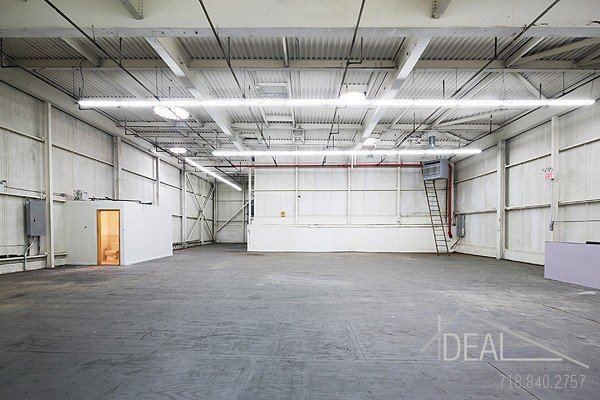 Fantastic 7,500 SF Event Space with 21 Foot Ceilings!  2