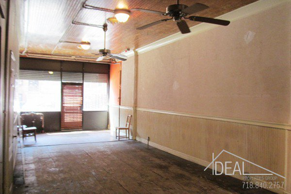 600Sf Storefront in Prospect Heights w/ Backyard! 0