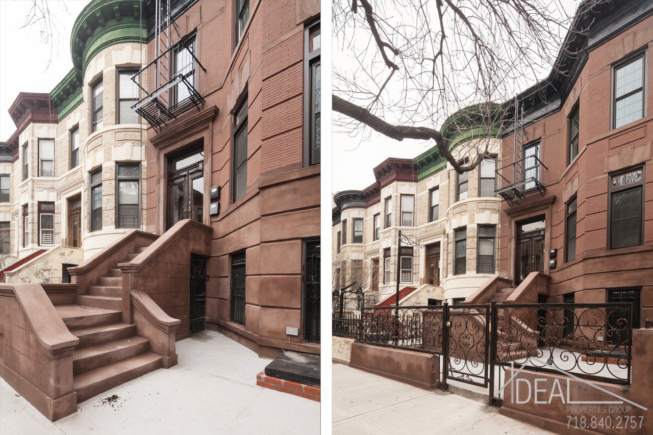 783 prospect place twhse townhouse brownstone for sale for Townhouses for sale in harlem