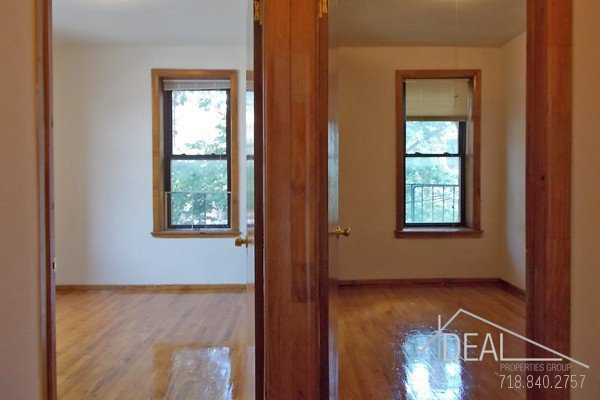 NO FEE! Wonderful 3 Bedroom Apartment for Rent in Park Slope with Backyard! 3