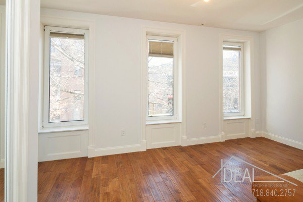 98 Underhill Avenue, Brooklyn NY 11238 - Gut Renovated 1.5 Bedroom 1 Bathroom Apartment for Rent in Prospect Heights Townhouse! 2