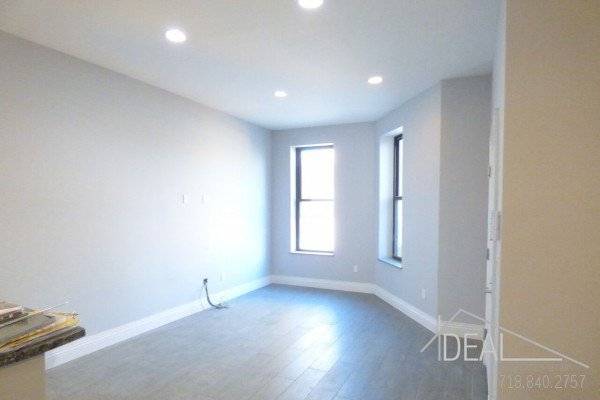NO FEE Wonderful 3 Bedroom 1 5 Bath Apartment For Rent In Bed Stuy With Bac