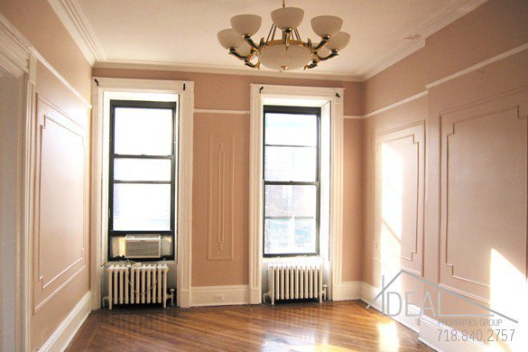 Wonderful 2 Bedroom Apartment + Office for Rent in Park Slope 0