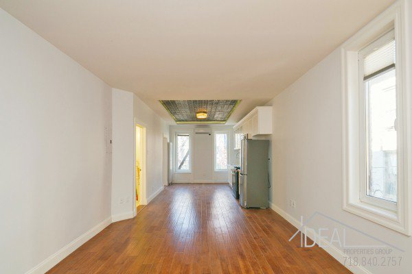 98 Underhill Avenue, Brooklyn NY 11238 - Gut Renovated 1.5 Bedroom 1 Bathroom Apartment for Rent in Prospect Heights Townhouse! 3